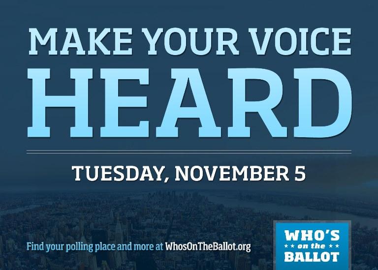 Vote on Nov. 5!